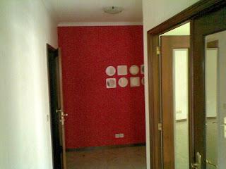 Hall de entrada do apartamento T2 em Valadares - Vila Nova de Gaia