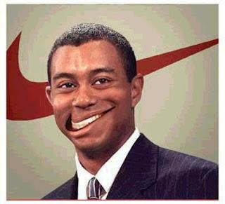 Tiger Woods - Sorriso Nike