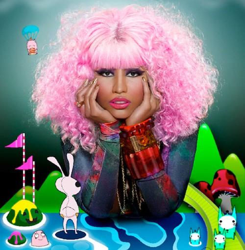 nicki minaj cartoon character. Nicki Minaj spent most parts