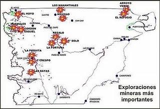 Chubut: exploraciones mineras