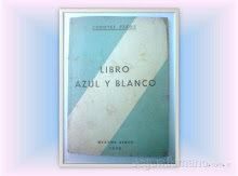 Libro Azul y Blanco