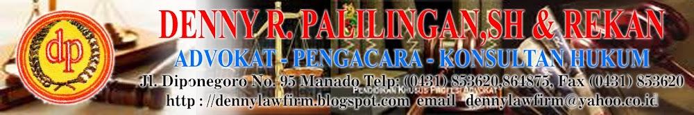 Advokat  Denny Palilingan,SH & Rekan