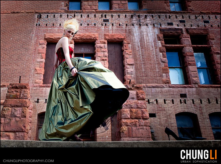 chung li wedding photography urban bridal portrait san francisco newyork sacramento
