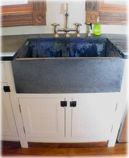 KITCHEN SINK SOAPSTONE KITCHEN DESIGN PHOTOS
