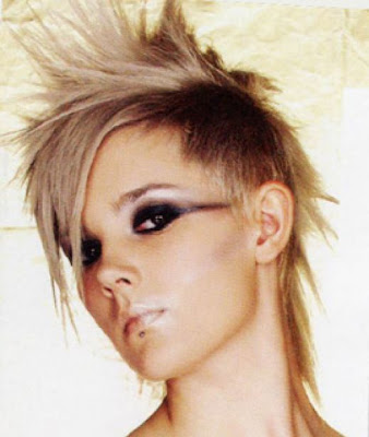 Perhaps one of the most popular punk hairstyles. Mohawk Hairstyle for Girl
