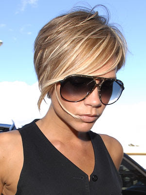 victoria beckham short haircut. victoria beckham short hair