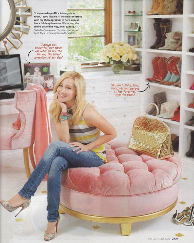 Star mania entra en la casa de ashley tisdale for Decorar casas wambie