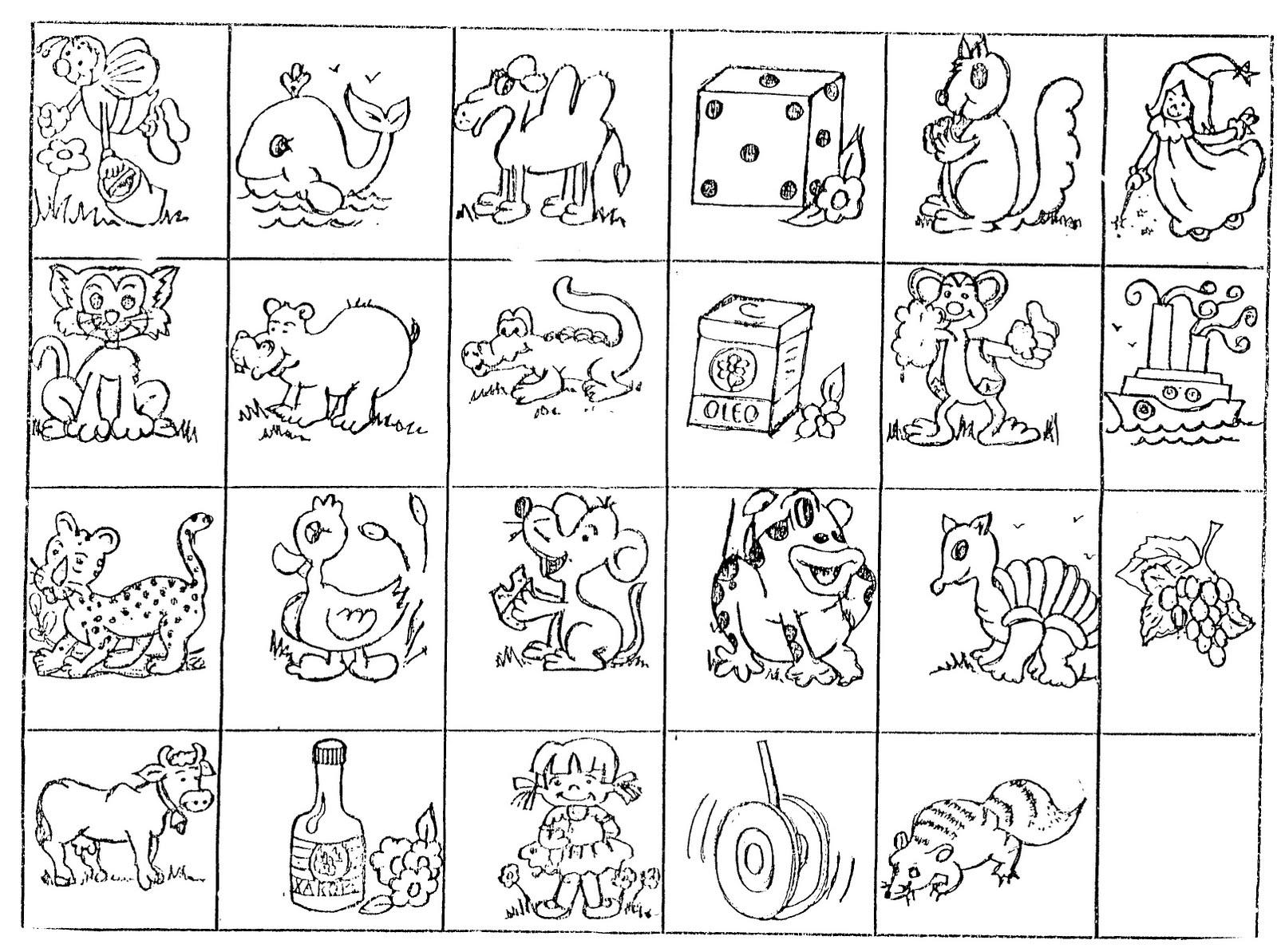 Populares Banco de Atividades: Alfabetização - jogo da memória CI22