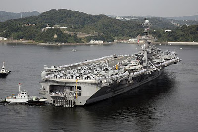 Milcom Monitoring Post: George Washington Heads to Sea for First ...