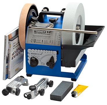 Idvw design tormek vs vintage wet wheel bench grinder for Bench tool system