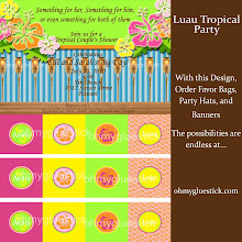 Luau Tropical Party
