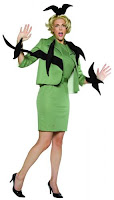 womans halloween costume - When birds attack