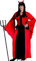 Plus Size Devil Princess Halloween Costume