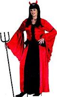 Plus Size Devil Princess Halloween Costume