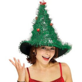 Christmas Tree Hat Costume
