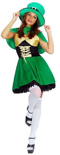 Sexy Leprechaun Fancy Dress Costume