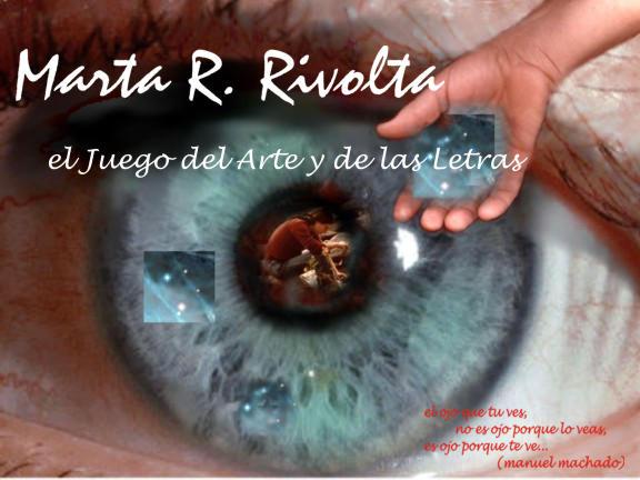 Marta Rivolta    el juego de las artes y las letras