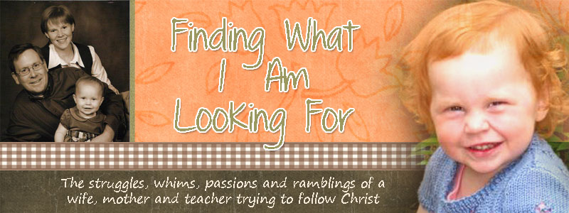 Finding What I Am Looking For