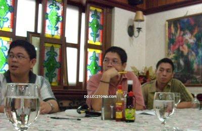 Dr Parado Dr Bravo and Dr Rosario