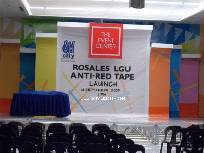 Rosales Anti Red Tape Campaign
