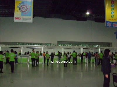 Dental Convention Registration Booth
