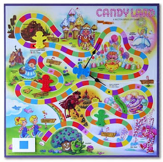 Candyland Coloring Page