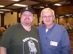 Myself and Larry Lund, Ohio Bigfoot Conference, 5-15-10