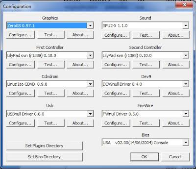 Hay que configurar los plugins del emulador