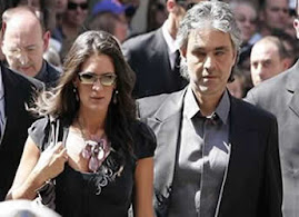 ANDREA BOCELLI Y SU NOVIA LA CANTANTE VERONICA BERTI
