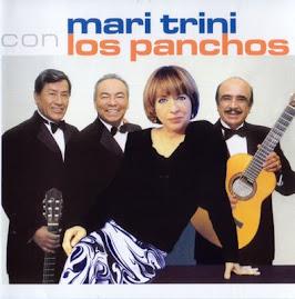 """Portada del Disco que grabará junto a : """" Los Panchos """""""