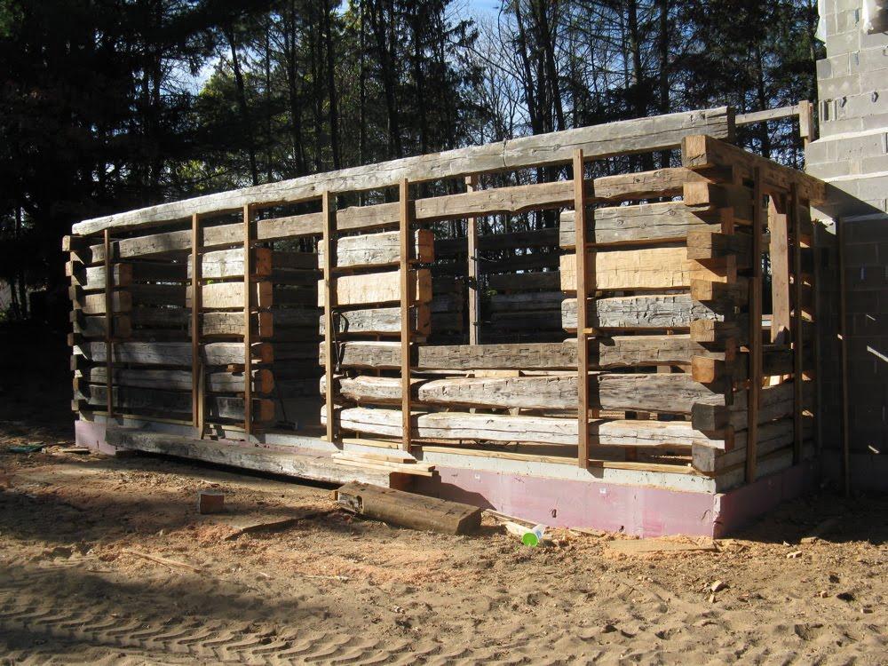 Mikekrasinskitalkstimber building a vintage log cabin Building a chalet