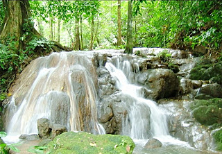 Sra Nang Manora Waterfall