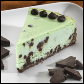 Shabby Lane Shops: Mint Chocolate Chip Cheesecake by Sweet Kathleen!