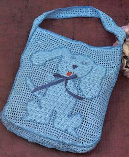Вязаные сумочки для девочек