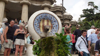 s repertoire of operate was non express to buildings solitary thailandbeach: SPAIN : ANTONI GAUDI- PARC GUELL