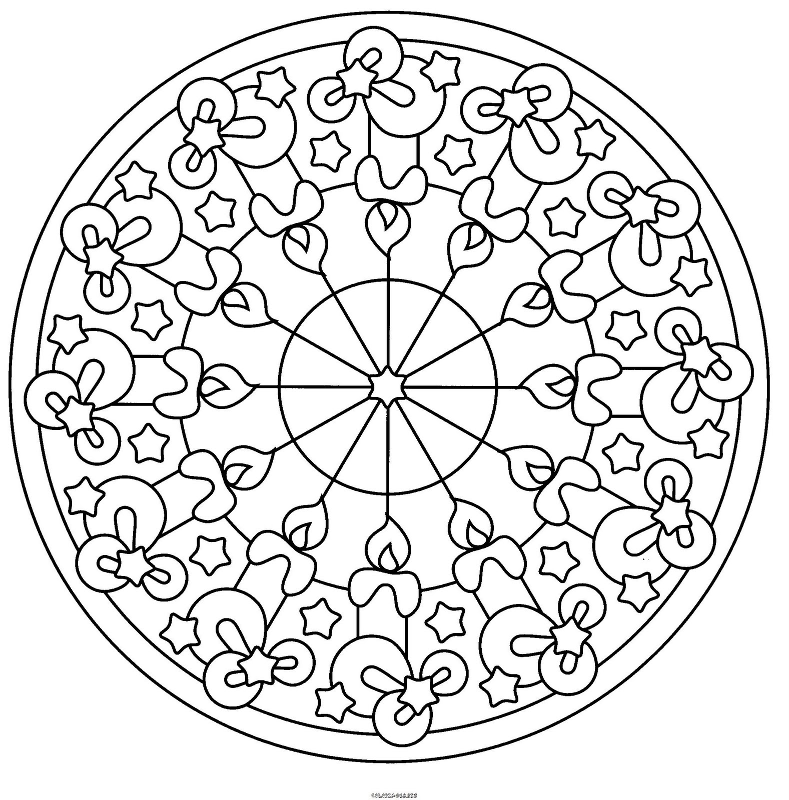 Malvorlagen Mandala Blumen - Malvorlagen Mandalas - JetztMalen de