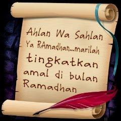 'Checklist' Amalan di Bulan Ramadhan