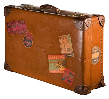 Petit Coterie: Love Vintage Suitcases? Make Your Own..