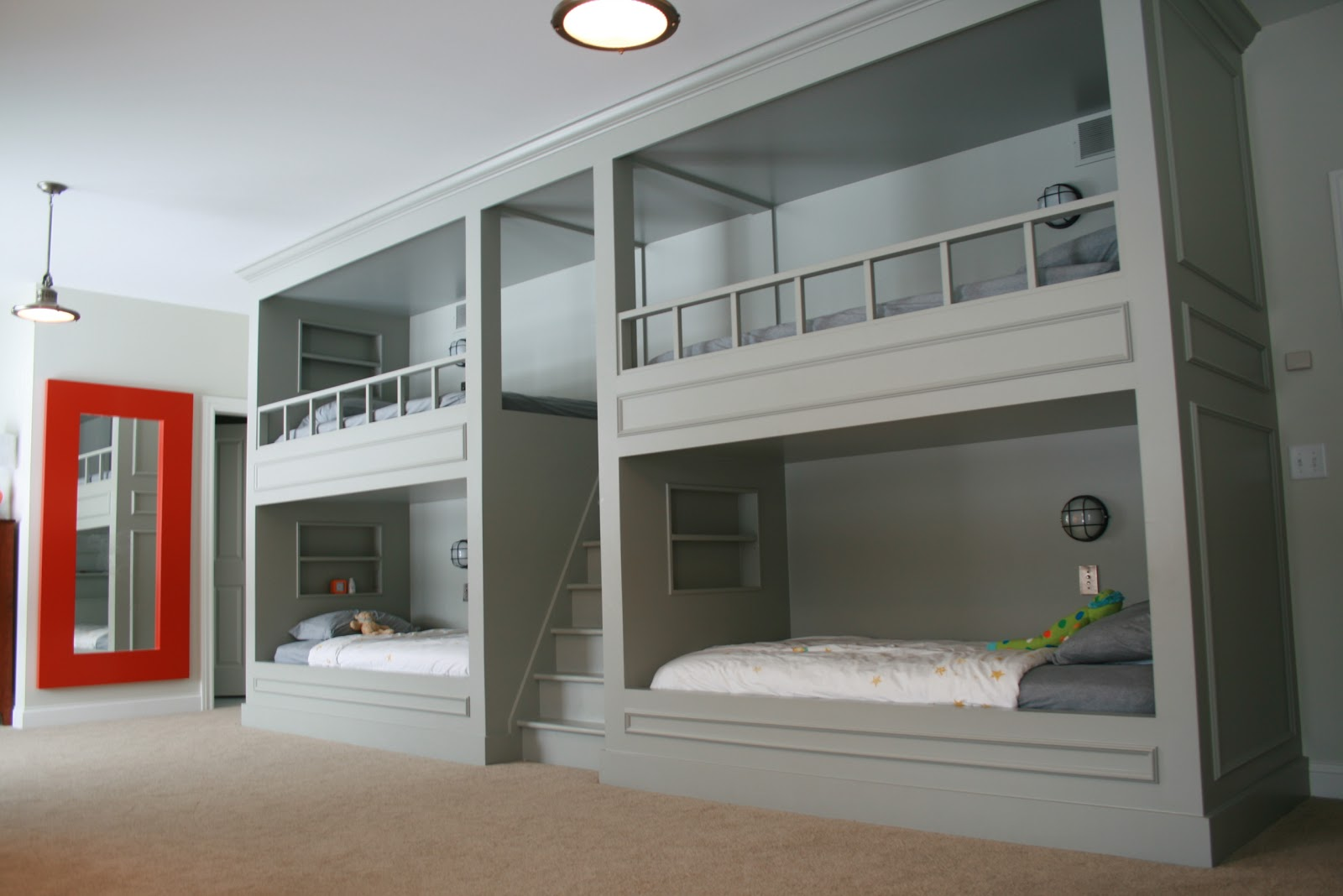 Guest room bed ideas living room interior designs Bunk bed boys room