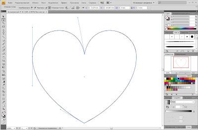 Уроки adobe illustrator: валентинка