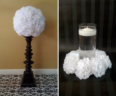 Tall Candle Wedding Centerpieces on Diy  Non Floral Centerpieces