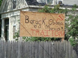 anti-obama sign