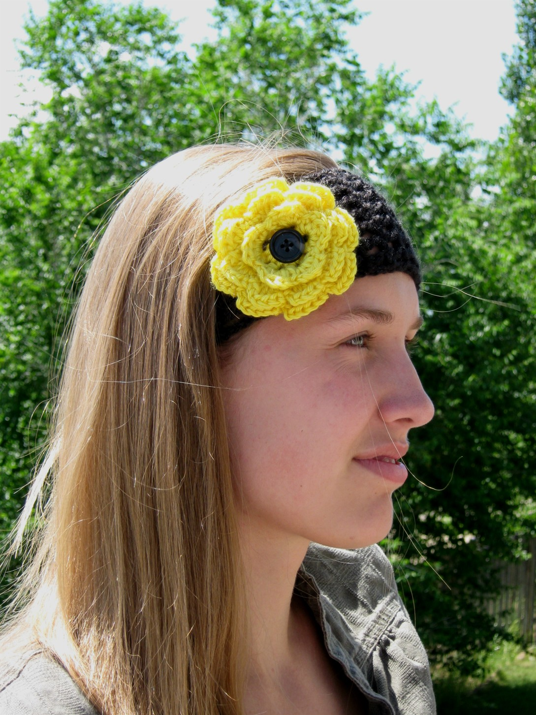 Crocheting A Headband : How to crochet a headband video, part 1
