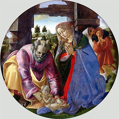 """Famous Nativity Art """"the word became flesh and"""