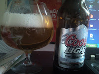 Coors Light - Sista amerikanska ölen på systembolaget