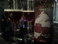Great Divide Old Ruffian Barley Wine + lördagens ölprovning