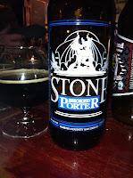 BBQ-svammel och öl - Great Divide Smoked Baltic Porter och Stone Smoked Porter