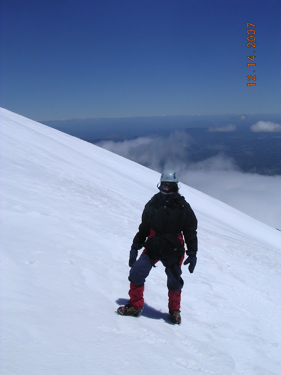L'ascension du Villarica, Pucon