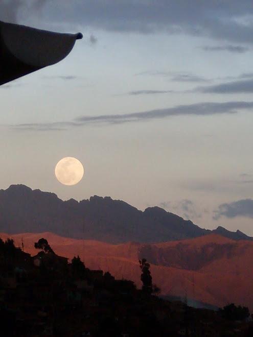Paysage lunaire à Cusco