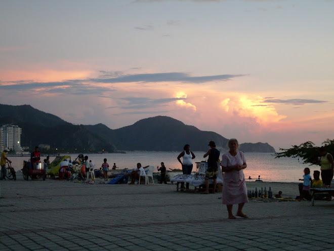 Le ciel à Santa Marta